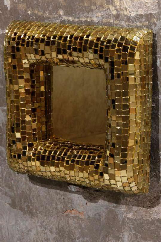 Bombato miroir par davide medri r f 10030533 for Miroir 40x40
