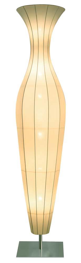 Aphrodite lampadaire ivoire 2,55m . Dix Heures Dix.