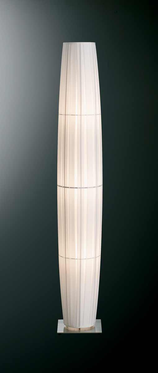 Colonne lampadaire blanc 165cm. Dix Heures Dix.