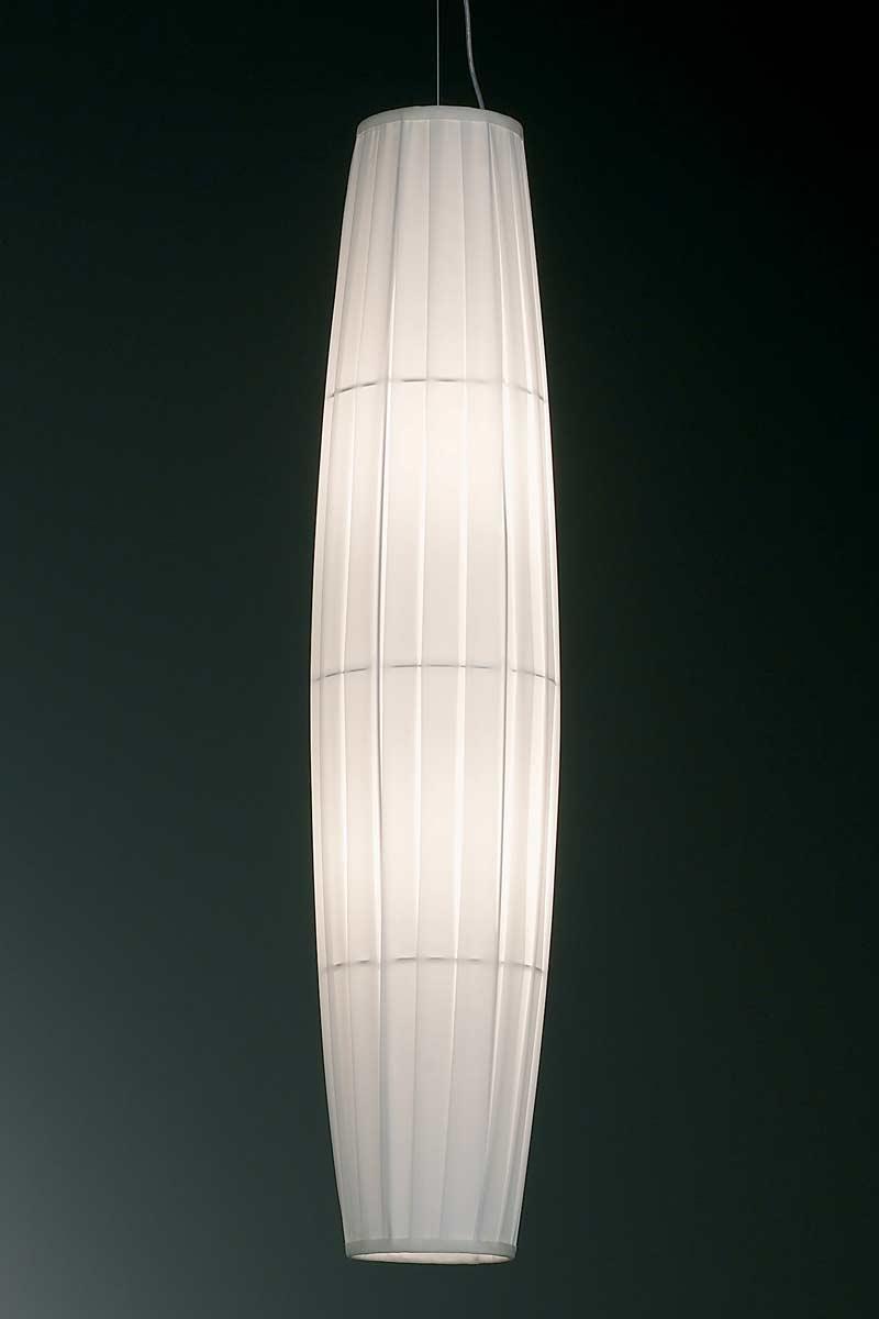 Colonne suspension blanche 90cm. Dix Heures Dix.