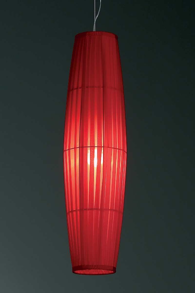 Colonne suspension rouge 60cm. Dix Heures Dix.