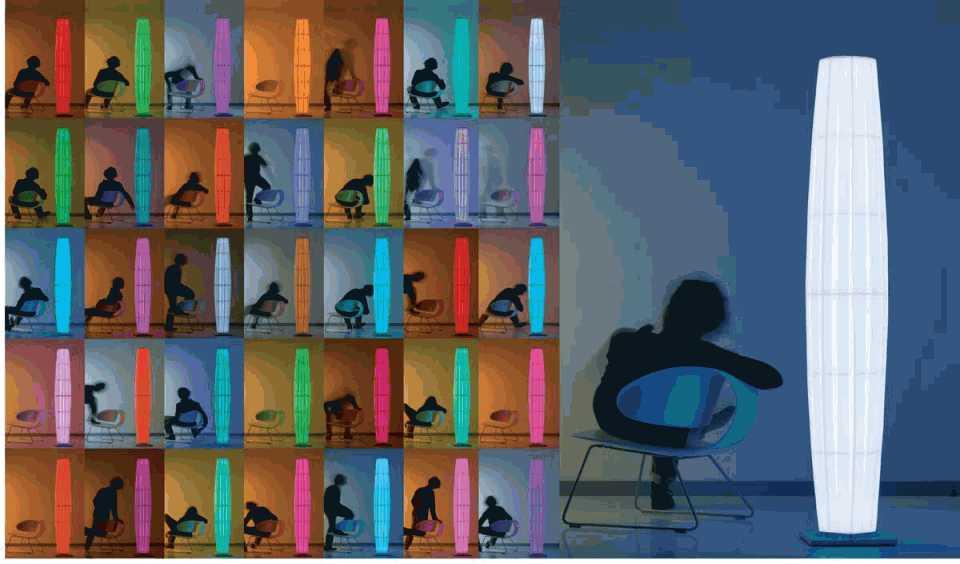 colonne lampadaire par dix heures dix r f 10010147. Black Bedroom Furniture Sets. Home Design Ideas