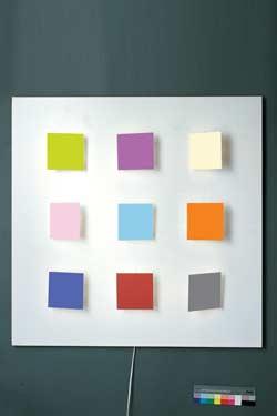 Métalo 9 applique multicolore. Dix Heures Dix.
