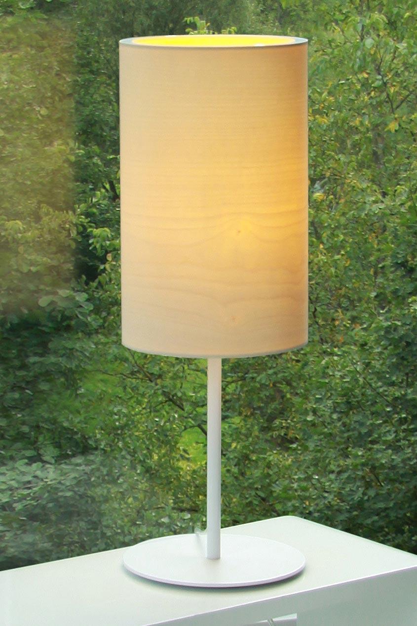 Funk lampe en bois d