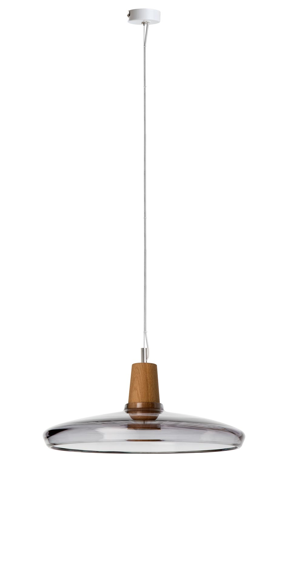 Industrial Pendant Lamp Shade Large In Anthracite Glass Dreizehngrad Made In Germany Ref 15090005