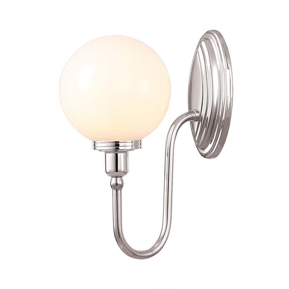 Applique De Salle De Bain Boule Style Art Déco Blake4. Elstead Lighting.