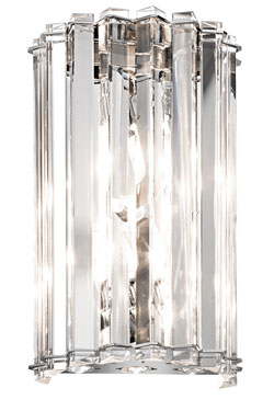 Applique en cristal taillé Crystal Skye . Elstead Lighting.