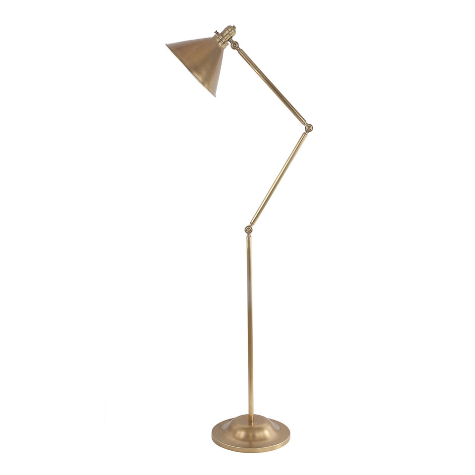 Lampadaire Provence bronze patiné noir. Elstead Lighting.