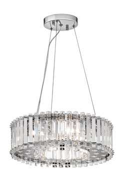 Suspension Crystal skye petit modèle. Elstead Lighting.