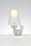 Catlamp lampe de table grise. Emporium.
