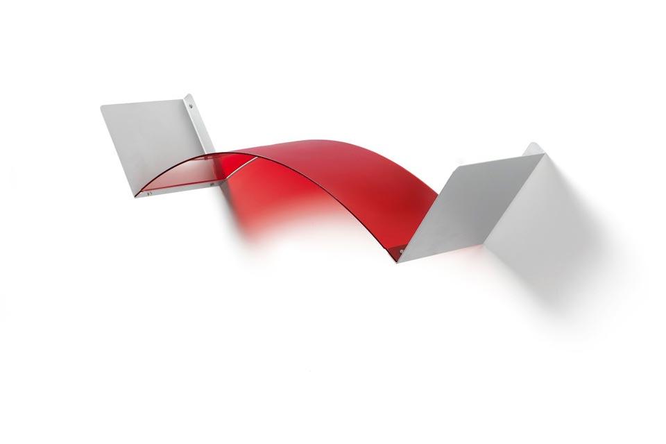 Flexa étagère rouge. Emporium.