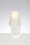 Lampe de table Baleine blanche . Emporium.