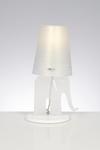 Lampe de table Eléphant blanche. Emporium.