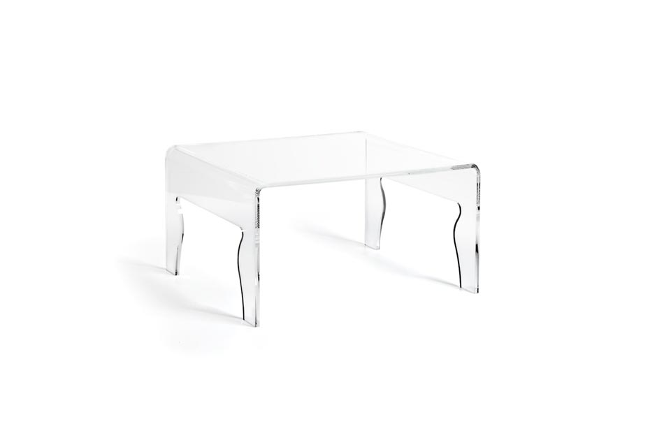 Naif 4 table basse transparente. Emporium.