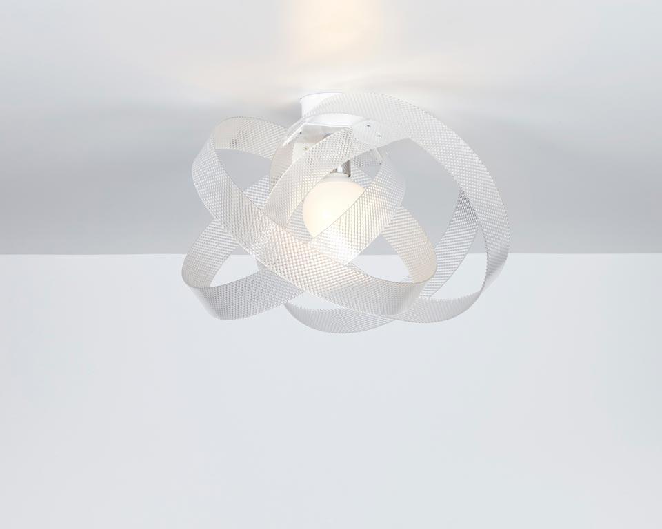 Nuvola plafonnier spectrall blanc. Emporium.