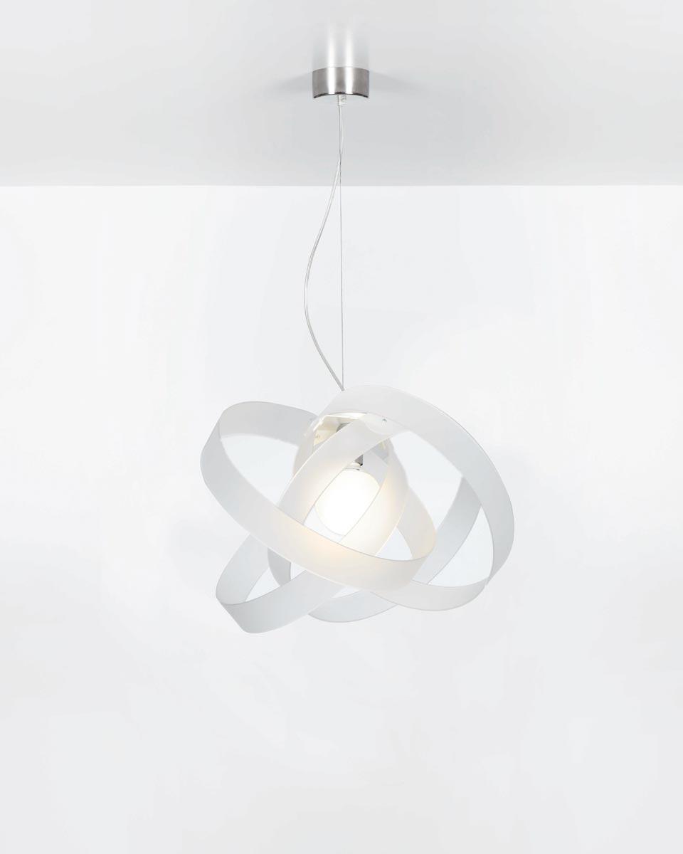 Nuvola suspension blanche. Emporium.