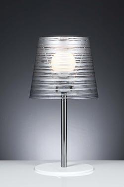 Pixi grande lampe de table argent. Emporium.
