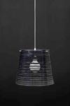 Pixi suspension noire et transparente. Emporium.