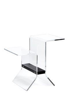 Table d'appoint Idéo noire. Emporium.
