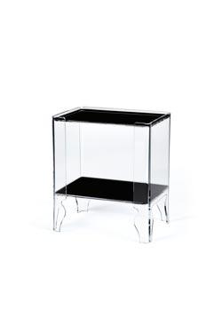 Table de chevet Naif 1 noire. Emporium.