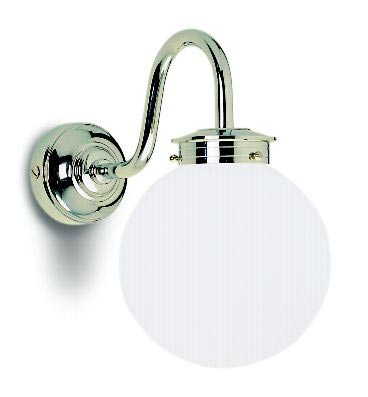 Amethyst Bathroom Wall Lamp Swan Neck