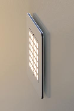 Sirius applique ou balise LED 13cm. f-sign.