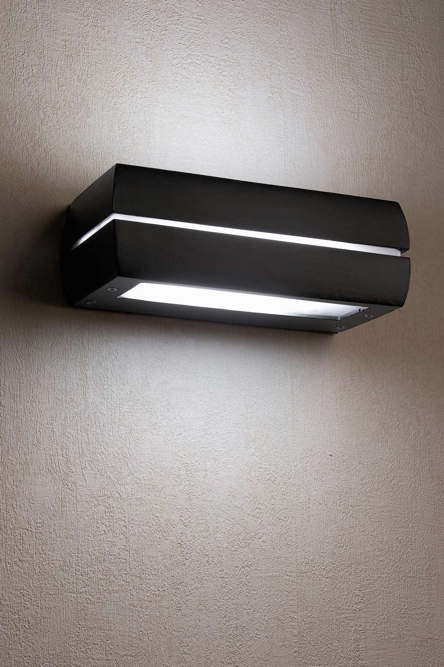Dragma dark grey aluminium exterior wall light Faro - Ref. 10030165