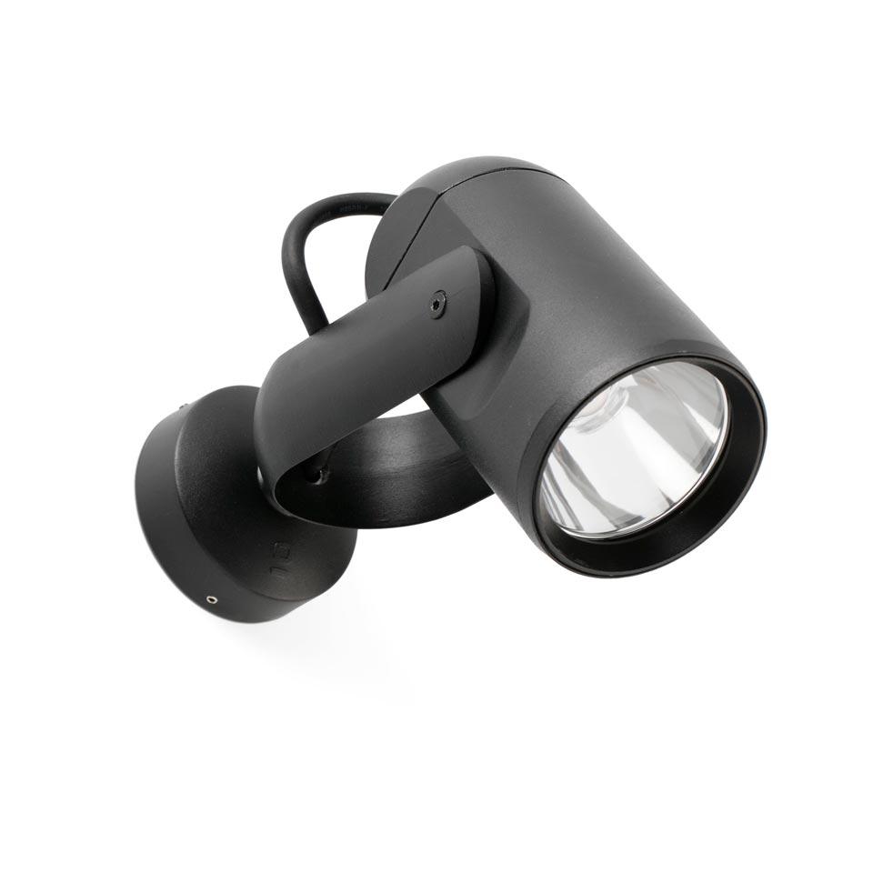 Small Outdoor Spotlight With Narrow Beam Led Lighting Faro Réf 19070633