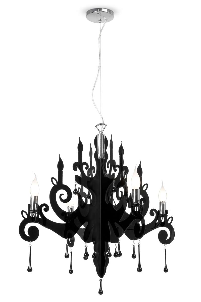 Berg Baroque Black Chandelier Faro Réf Lighting Ideas