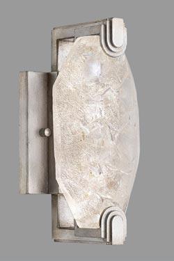 Applique argent, éclairage LED  petit modèle, par Allison Paladino. Fine Art Lamps.