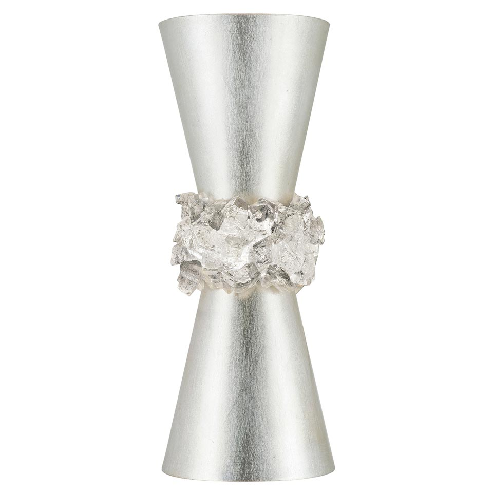 Applique conique argent Arctic Halo . Fine Art Lamps.