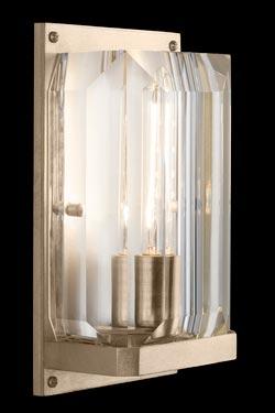 Applique dorée et cristal Monceau. Fine Art Lamps.