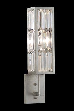 Applique en prismes de cristal sur bras - Crystal Enchantment. Fine Art Lamps.