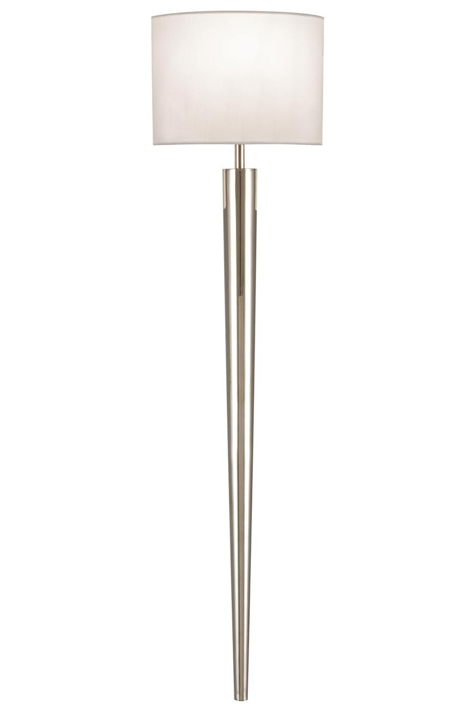 Applique fine Grosvenor Square finition nickel poli. Fine Art Lamps.