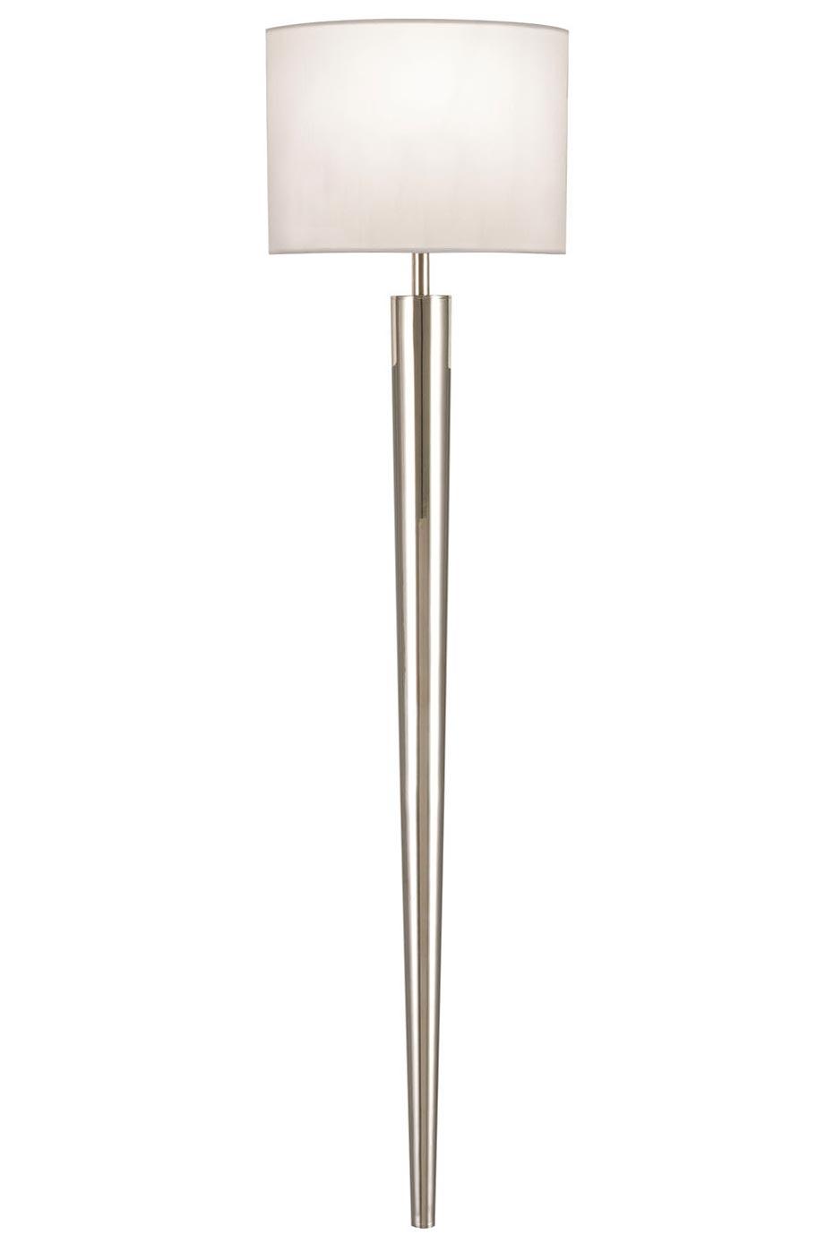 Applique fine Grosvenor Square finition nickel poli. Fine Art Lamps.