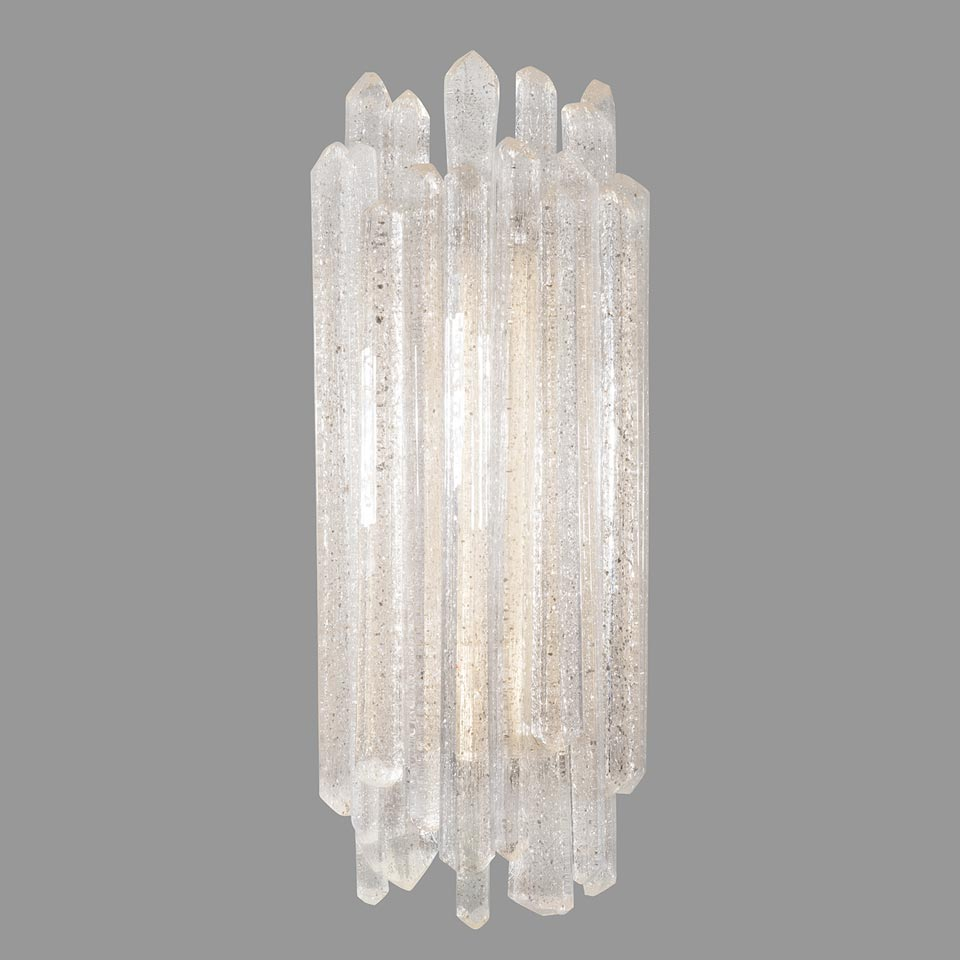 Applique LED verre et quartz Diamantina . Fine Art Lamps.