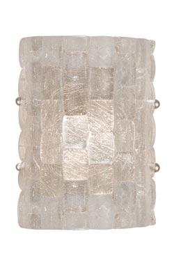 Applique pavés de verre - Constructivism - 24cm. Fine Art Lamps.