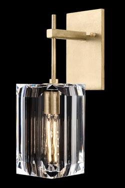 Applique suspendue dorée Monceau. Fine Art Lamps.