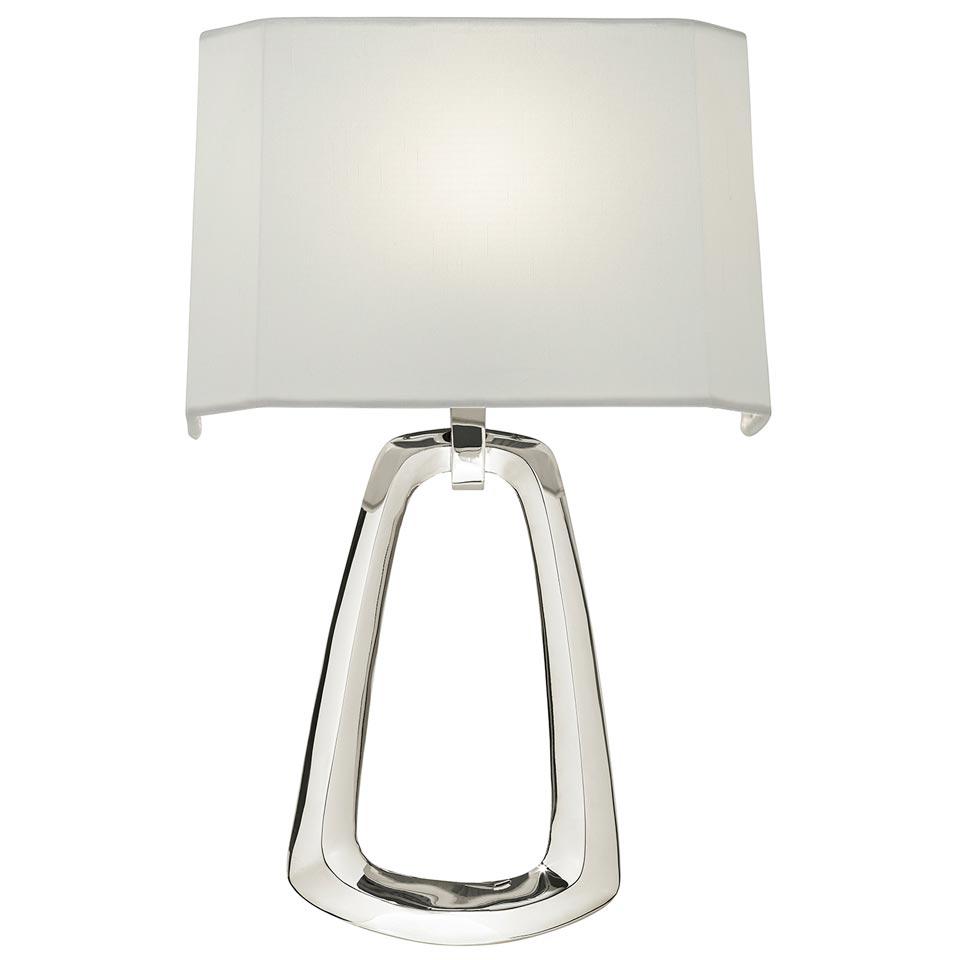 Grosvenor Square Applique  argent. Fine Art Lamps.