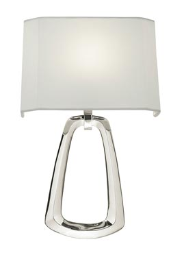 Grosvenor Square Applique  argent. Fine Art Lamps.