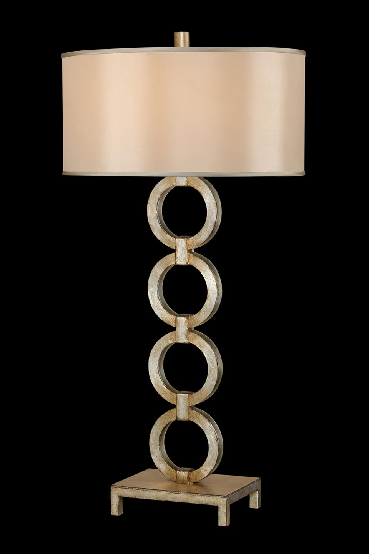 Portobello Road lampe en cercles superposés décorée à la feuille d