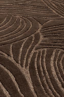expression marron tapis 140x200cm habana home - Tapis Marron