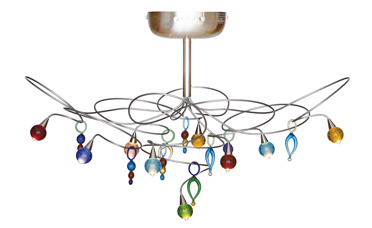 Ceiling Light With Drops Harco Loor