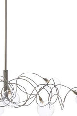 Bubbles 12-light oval chandelier. Harco Loor.
