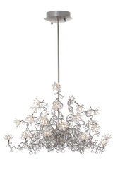 Jewel Diamond Chandelier clear 24-light chandelier in clear glass. Harco Loor.