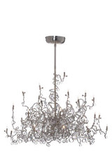 Tiara Diamond Chandelier 24-light chandelier. Harco Loor.