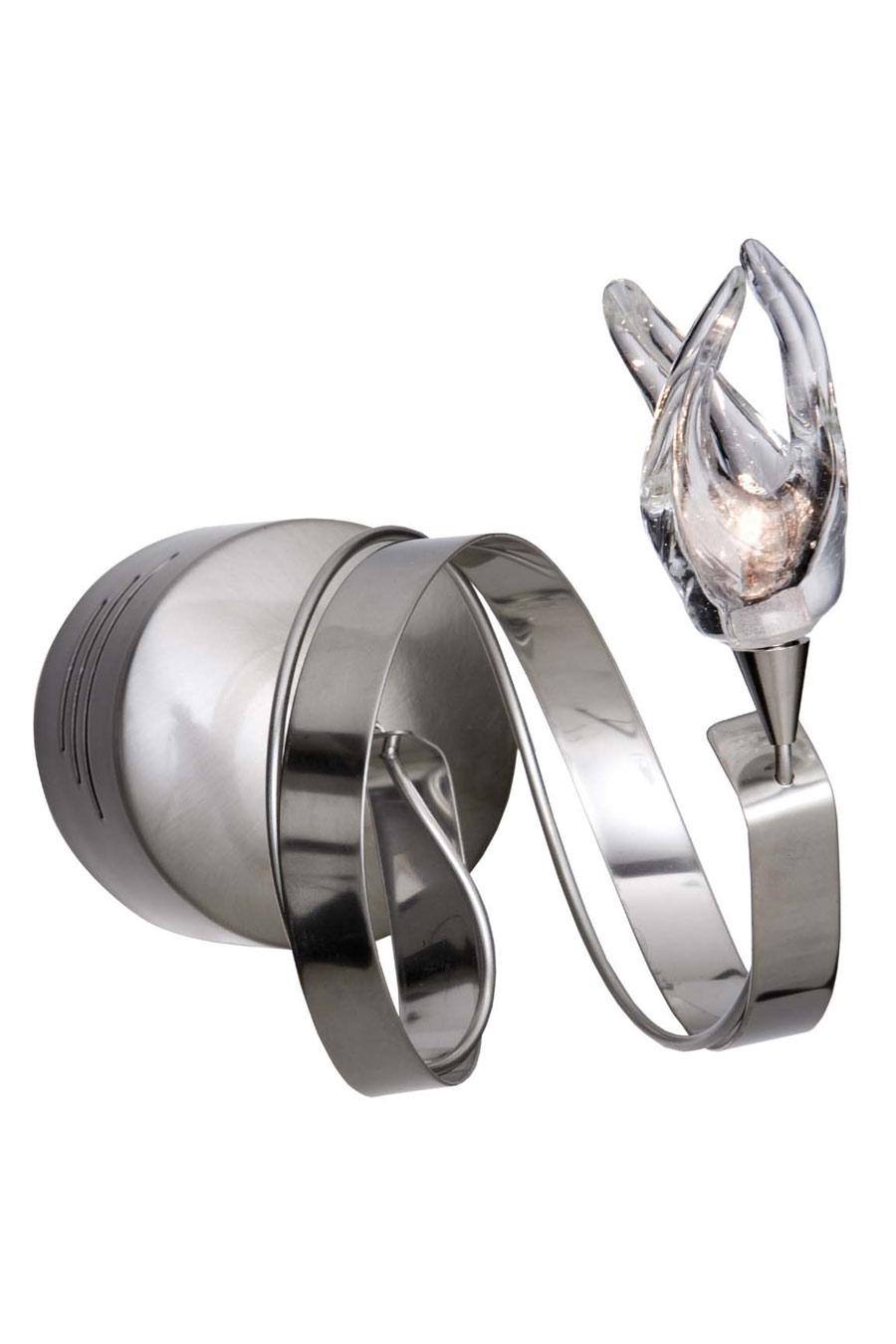 Guirlande applique simple finition métal brillant. Harco Loor.