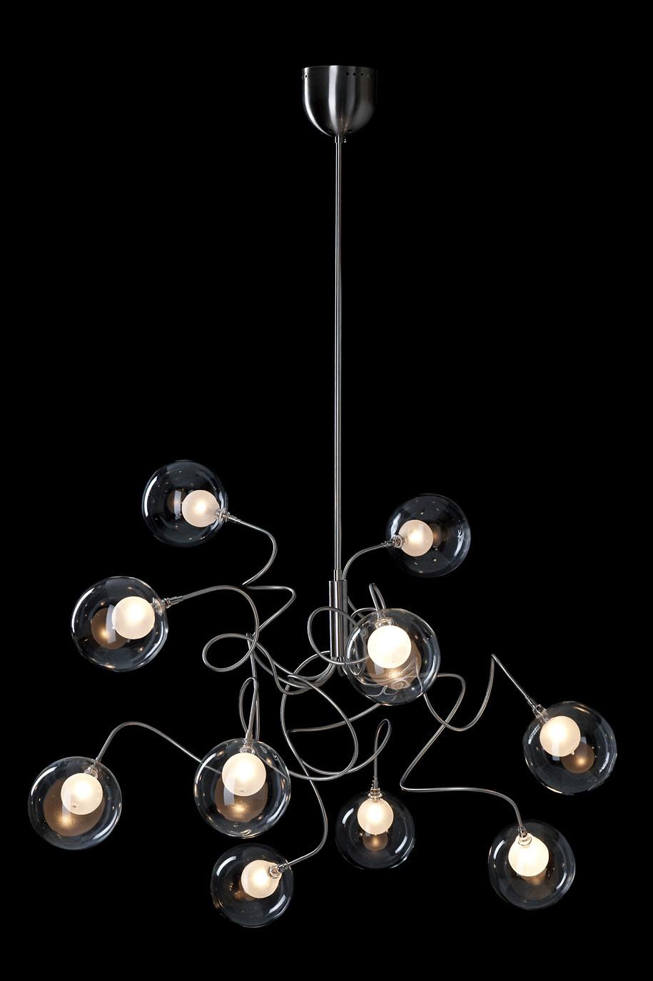 riddle six suspensions 10 lumieres en verre transparent contemporain design suspension 11080094R Résultat Supérieur 15 Frais Suspension Luminaire En Verre Transparent Photos 2017 Ksh4