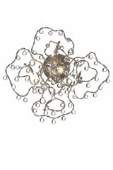 Tiara Diamond 5-light clear glass wall light . Harco Loor.