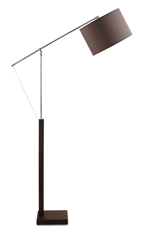 lampadaire liseuse sur potence abat jour rond hind rabii. Black Bedroom Furniture Sets. Home Design Ideas